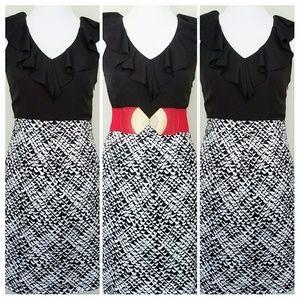 Faux Two-Piece Dress by Merona